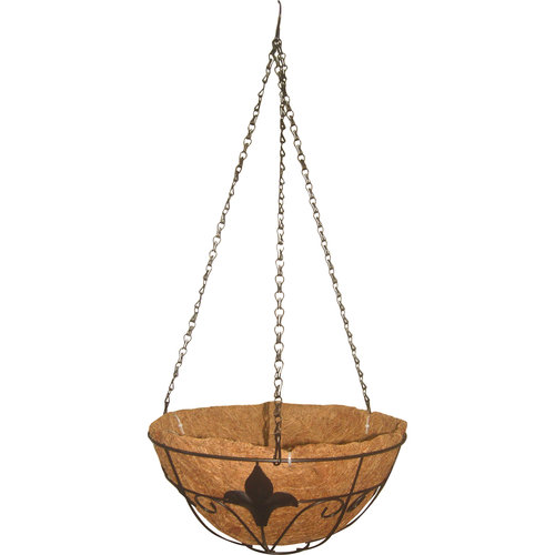 Better Homes and Gardens Coco-Lined Basket, 12""