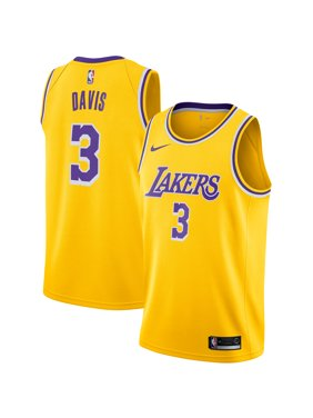 Anthony Davis Los Angeles Lakers Nike 2019/20 Swingman Jersey Gold - Icon Edition