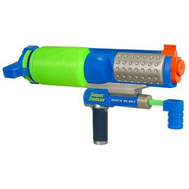 Super Soaker Quick Blaster Water Gun by Hasbro