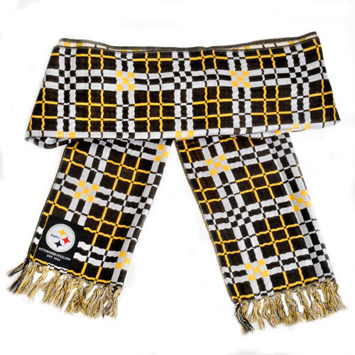 NFL - Pittsburgh Steelers Checkered Scarf