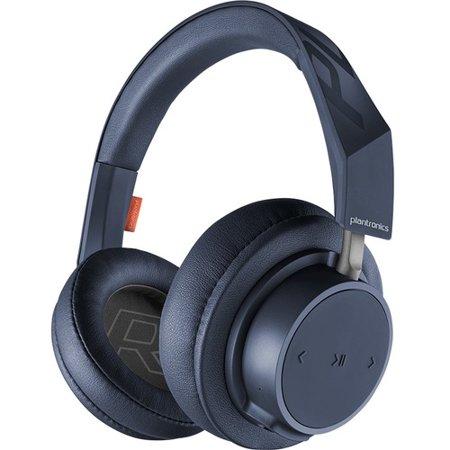 Plantronics BackBeat GO 600 Series Over-the-ear Wireless Headphones - Stereo - Navy - Wireless - Bluetooth - 32.8 ft - 32 Ohm - 50 Hz - 20 kHz - On-ear, Over-the-head, Over-the-ear - Binaural -