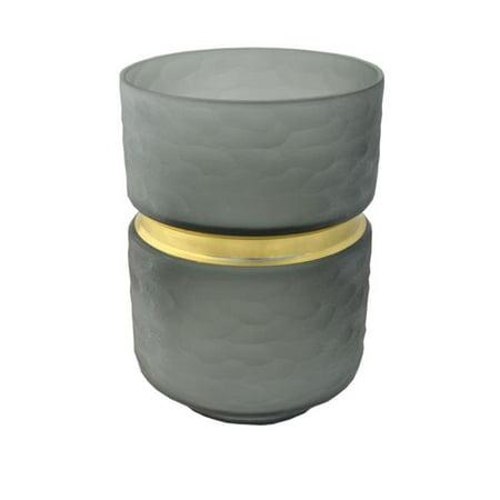 R16 Home Furniture WG-06G Leech Vase, Grey - image 1 of 1