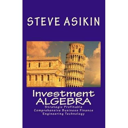 Investment Algebra  Strategic Profitable Comprehensive Business Finance Engineering Technology