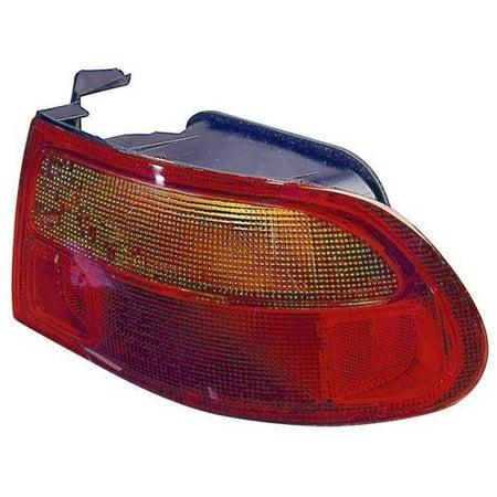 Go-Parts » 1992 - 1995 Honda Civic Rear Tail Light Lamp Assembly / Lens /  Cover - Right (Passenger) Side - (3 Door