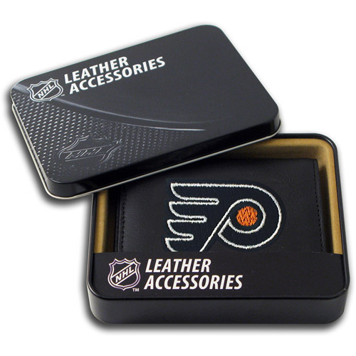 NHL - Men's Philadelphia Flyers Embroidered Trifold Wallet