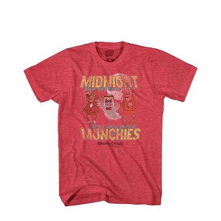 Midnight Munchies Monster Cereal Count Chocula Frankenberry Boo Berry Tee (MD)