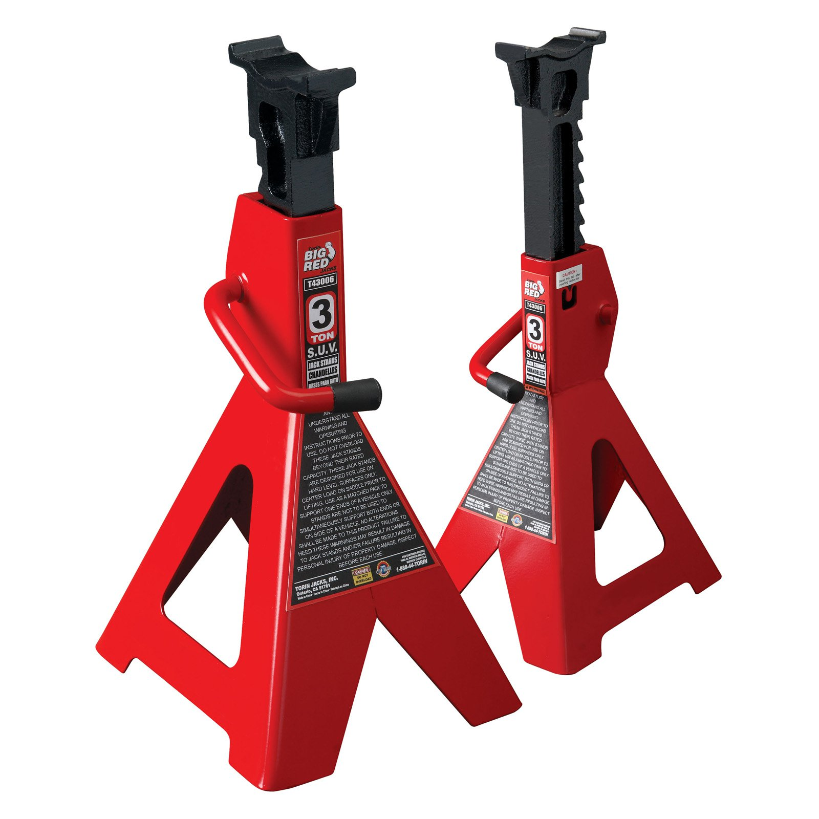 Torin Big Red 3 Ton SUV Jack Stands
