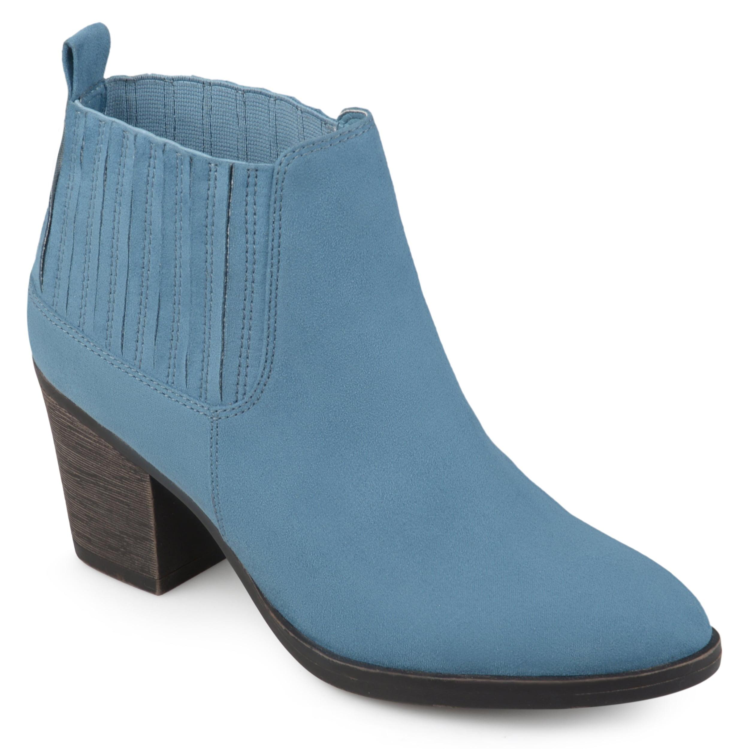 Journee Collection  Women's 'Sero' Almond-toe Block Heel ...