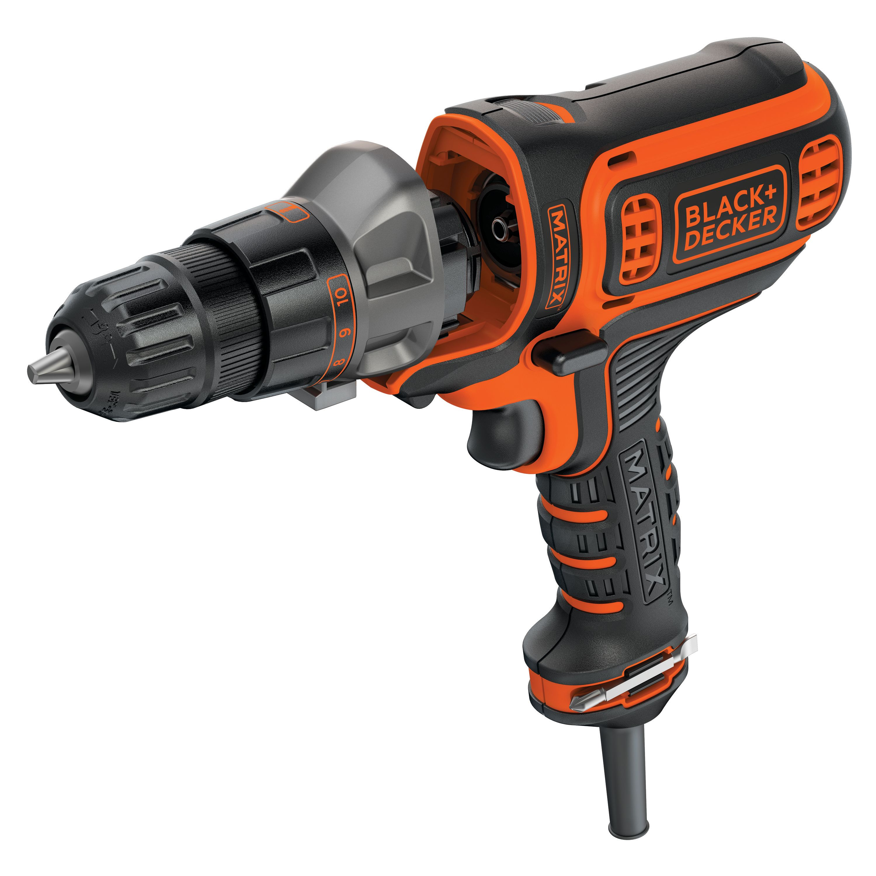 "BLACK+DECKER BDEDMT 3/8"" Corded MATRIX Drill/Driver"