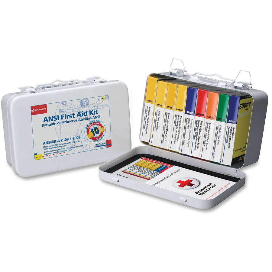 First Aid Only 10-unit ANSI 64-piece First Aid Kit by First Aid Only, Inc