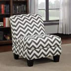 Phoenix Ziggi Upholstered Accent Chair Multiple Colors