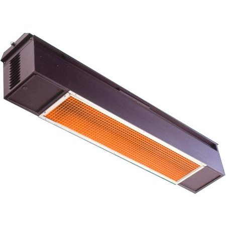 Model S25 Patio Heater Finish Fuel Source  Black Natural Gas