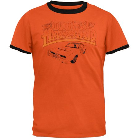 - Dukes Of Hazzard - Distressed Logo T-Shirt