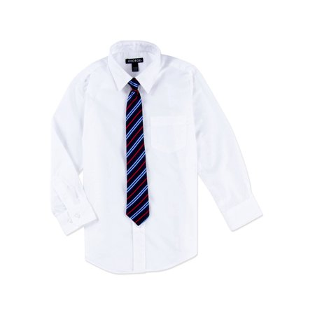 George Packaged Dress Shirt-Tie (Little Boys & Big Boys) ()
