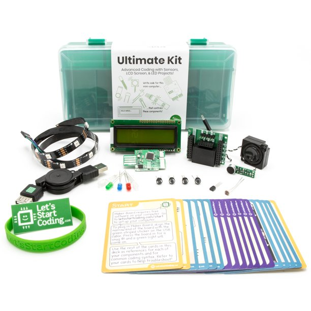 Ultimate Coding Kit For Kids | Typed Coding and STEM Toy for Kids 9-13 | Lessons Included!