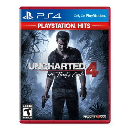 Uncharted 4: A Thief's End - PlayStation Hits, Sony, PlayStation 4,