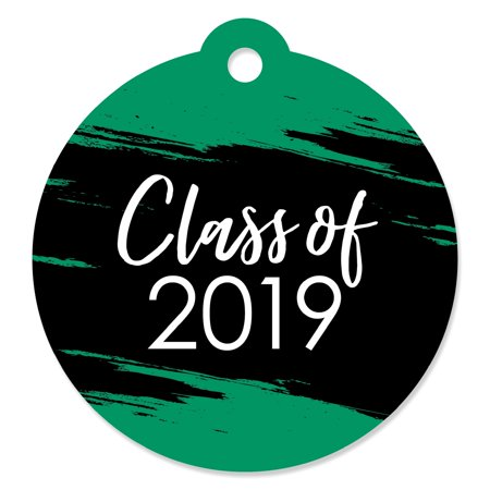 Green Grad - Best is Yet to Come -  Green 2019 Graduation Party Favor Gift Tags (Set of