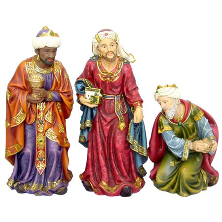 The Holiday Aisle Traditional 3 Piece Wise Men Figurine Set