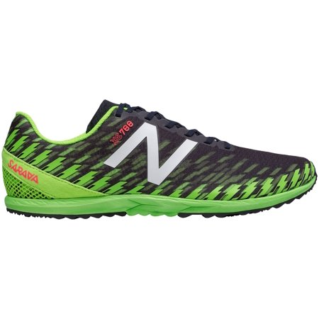 New Balance Men's XC700 V5 Spikeless Track and Field Shoes (BlackGreen, 7.0)