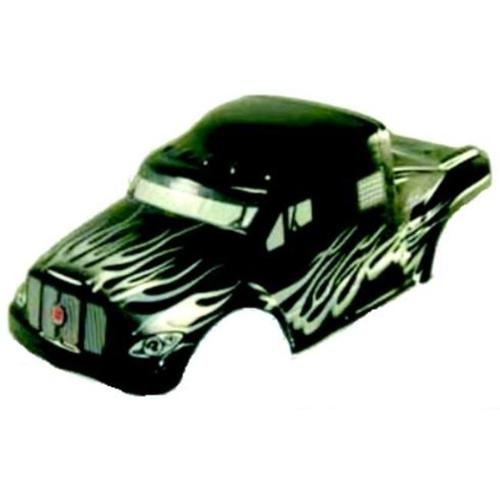 Redcat Racing 88035 0. 1 Semi Truck Body Black And Silver - Redcat RC Racing Vehicle Parts