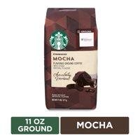 Starbucks Flavored Ground Coffee  Mocha  No Artificial Flavors  1 bag (11 oz.)