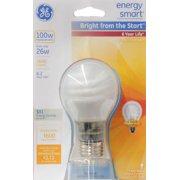 GE CFL A19 25W Warm White 1600 Lumens Bulb 1 pack - 60309