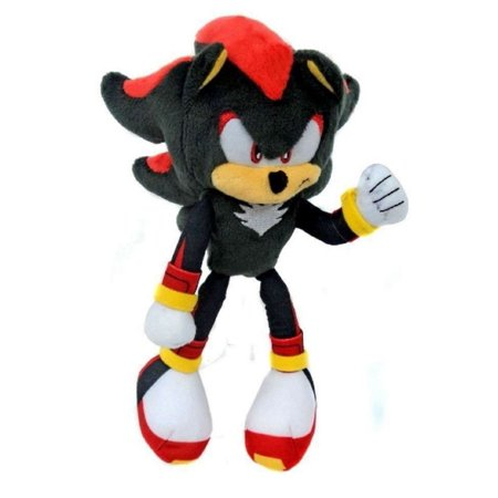 Plush Toy - Sonic the Hedgehog - Modern Shadow - 8 (Sonic And The Black Knight Shadow Toy)