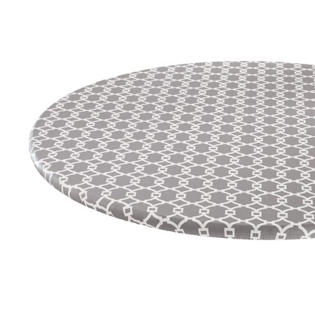 Lattice Vinyl Elasticized Table Cover by HSK 45
