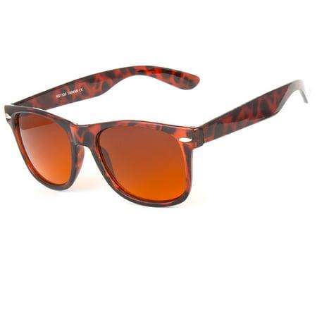New HD Driving Aviator Sunglasses Golf Vision Blue Blocker Lens High (High Definition Sunglasses)