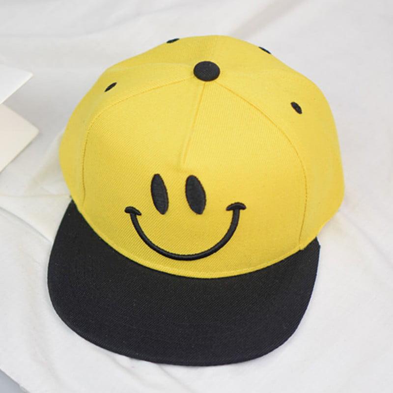 Baseball Cap Adjustable Classic Cotton Summer Sun Kids Boys Girls Hip Hop Hats