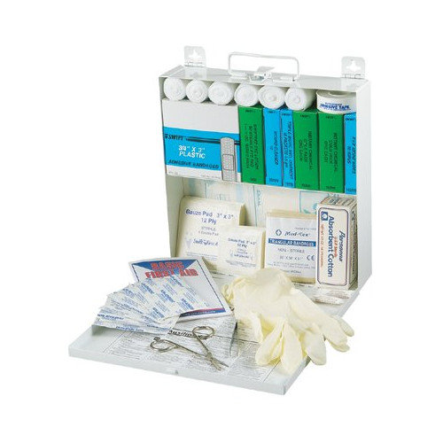 Swift First Aid 50 Person Econo First Aid Kits - #50 econo-steel