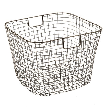 Design Ideas Cabo Harvest Basket, Natural Finish](Chinese Auction Basket Ideas)