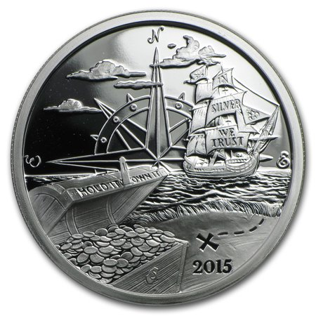 1 Oz Silver Proof Round 2015 Finding Silverbug Island