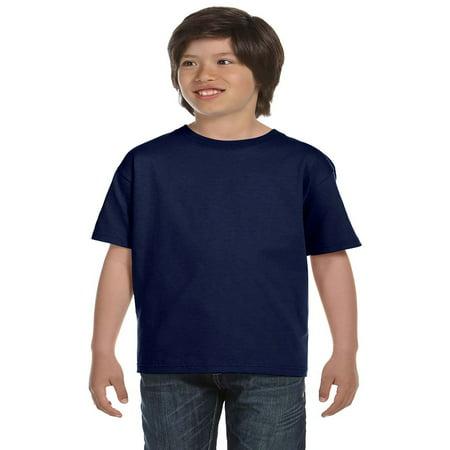 Hanes Boys' TAGLESS® ComfortSoft® Crewneck T-Shirt, Style 5480