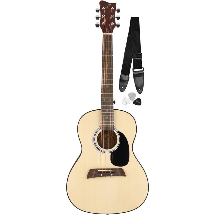 First Act AL363 Adam Levine Acoustic Guitar Pack with Strap & Picks