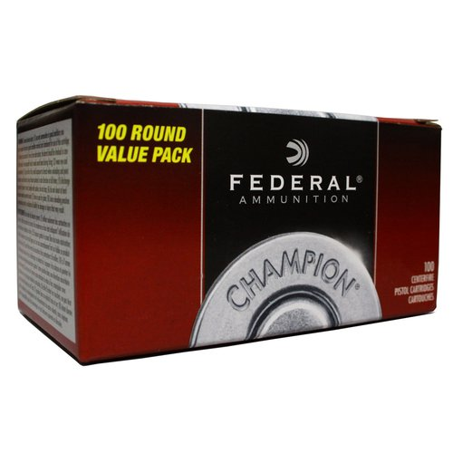 Federal .40S&W, 180GR, FMJ Brass, 100-Count