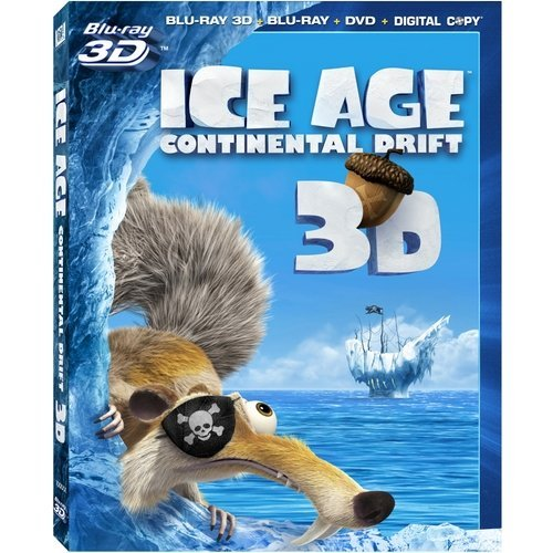 Ice Age 4: Continental Drift 3D (Blu-ray 3D   Blu-ray 2D   DVD   Digital Copy) (With INSTAWATCH) (Widescreen)