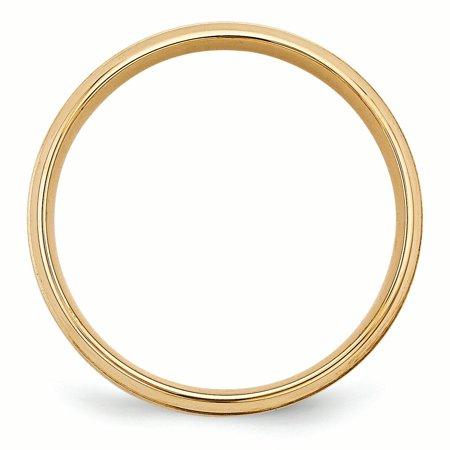 14K Yellow Gold Standard Comfort Fit Fancy Band - image 2 de 3