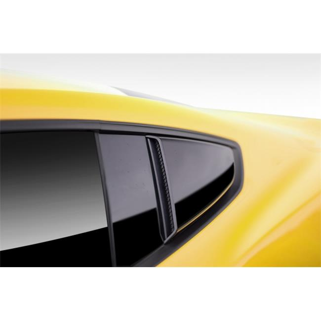 Extreme Dimensions 112458 2015-2015 Ford Mustang Duraflex R-Spec Window Scoops