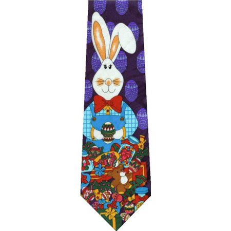 Easter Bunny With Candy New Novelty Necktie Tie