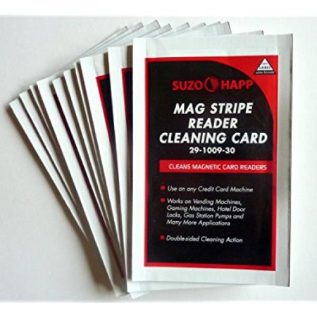 Cleaning Card for Mag Stripe Card Readers