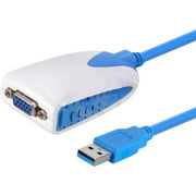 USB 3.0 TO VGA EXTERNAL GRAPHIC ADAPTER 1920X 1200 1080P