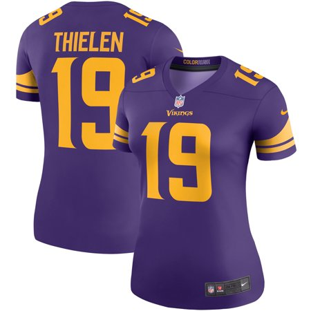 buy online 2853a 50102 Adam Thielen Minnesota Vikings Nike Women's Color Rush Legend Player Jersey  - Purple