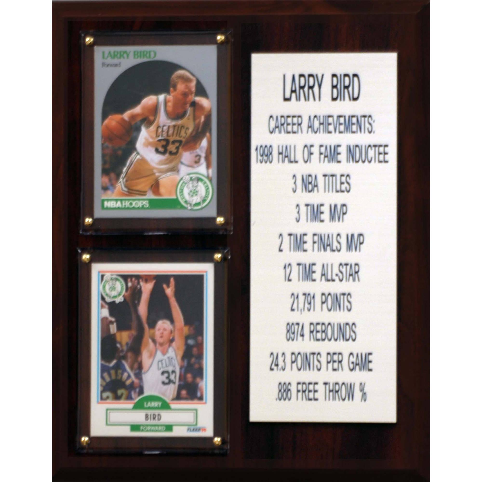 larry bird achievements