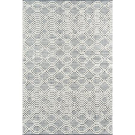 Momeni Hermosa Hand Woven Recycled Plastic Grey Area Rug 2' X 3' ()