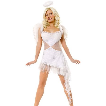 Morris Costumes Playboy Hefs Angel Xsmall](Hef Costume)