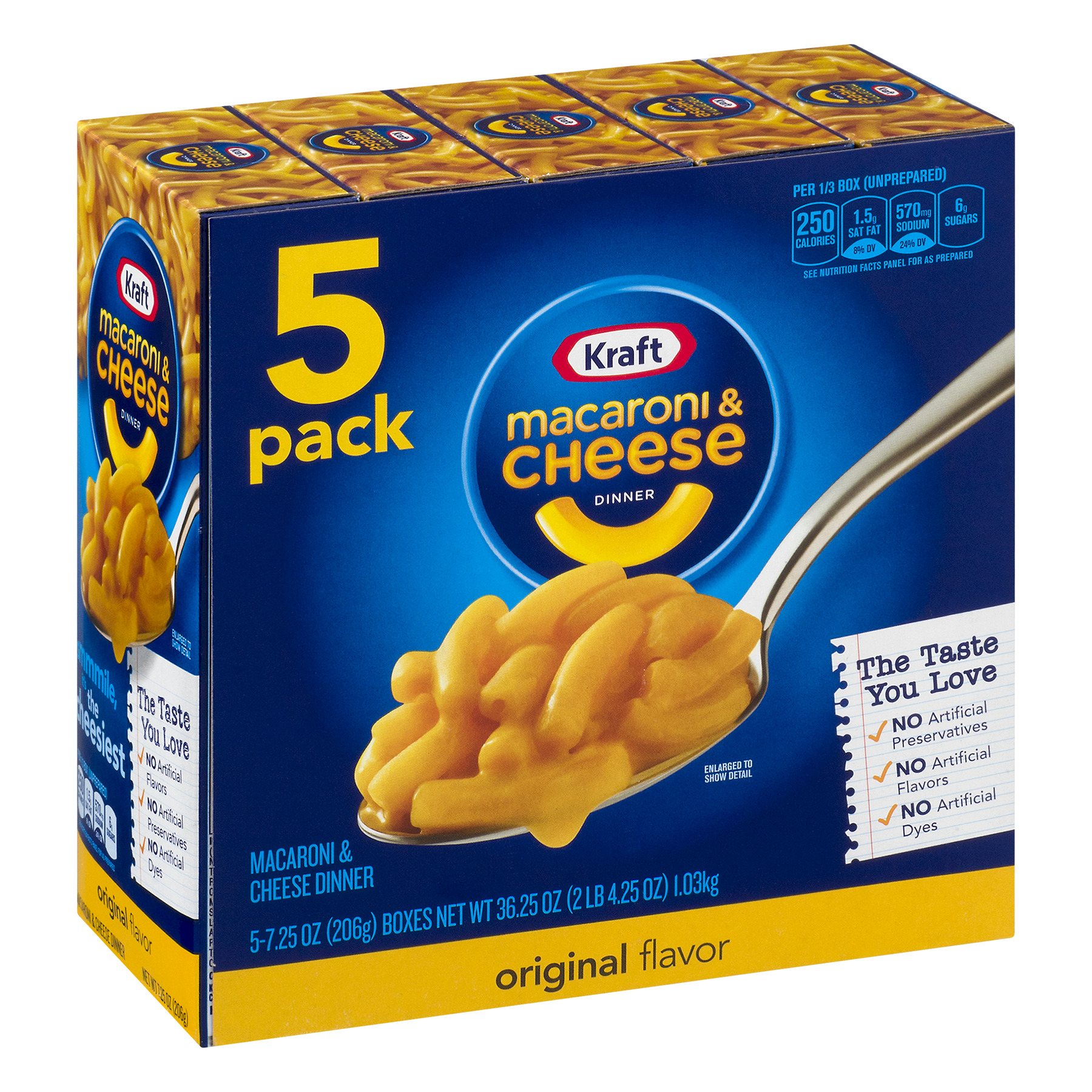 Kraft Macaroni Cheese Dinner Original Flavor Count Oz - 7 top cheese shops in south florida