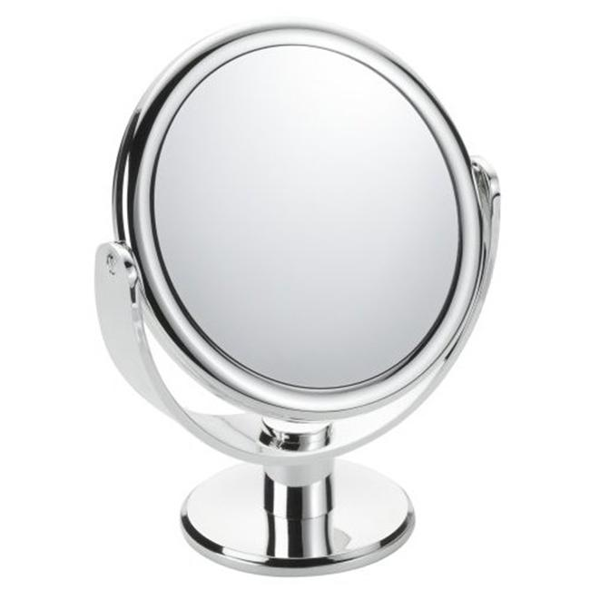 Floxite FL-83FMC 8x-3x Chrome Colored Vanity Mirror