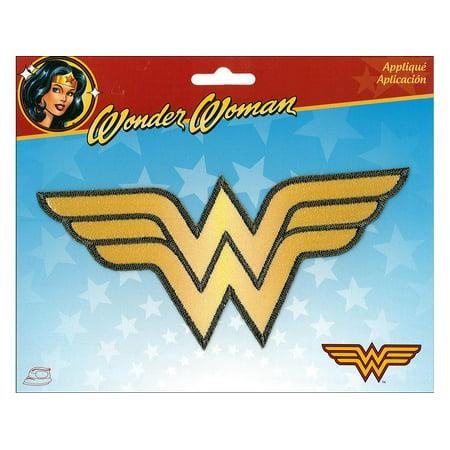 Applique Iron On Lg Wonder Woman (Womens Applique Graphic)