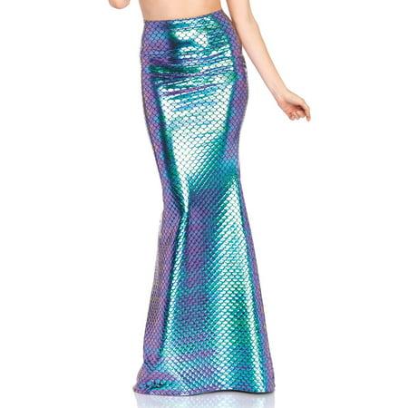 Iridescent scale mermaid - Long Mermaid Skirts